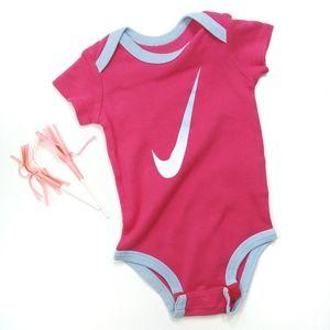 Nike Pink Onesie Bodysuit size 3-6 Months